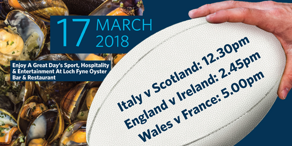 Six Nations Rugby Super Saturday 17th March 2018