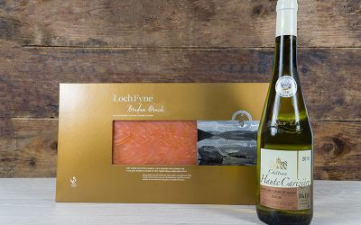 Smoked Salmon and Wine