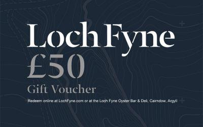 £50 Loch Fyne Gift Voucher