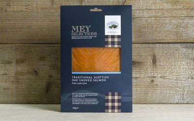 Mey Selections Traditional Oak Smoked Salmon 100g