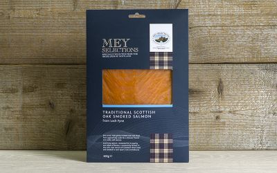 Mey Selections Traditional Oak Smoked Salmon 200g