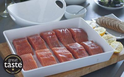 Lightly Smoked Salmon 10 x 140g portions