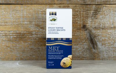 Mey Selections Sticky Toffee Luxury Biscuits 150g
