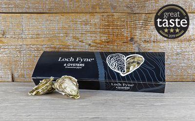 6 Loch Fyne Rock Oysters