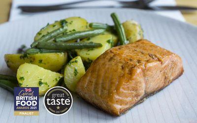 Lightly Smoked Salmon 2 x 120g