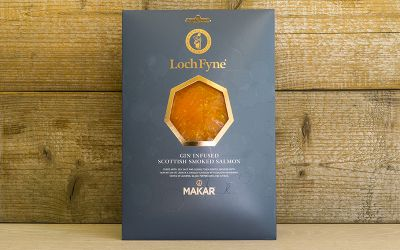 Makar Gin, Citrus & Black Pepper Smoked Salmon 200g