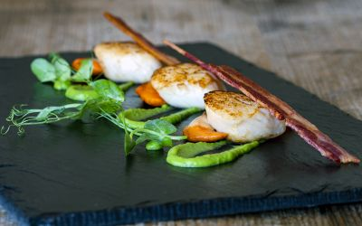 Hand Dived King Scallop Meat