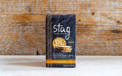 Stag Stornoway Water Biscuits 150g