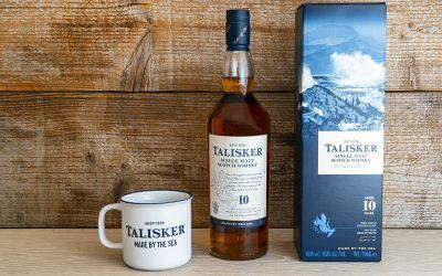Talisker Single Malt & Cup