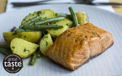Lightly Smoked Salmon 2 x 140g portions