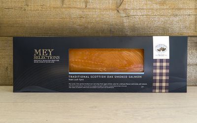 Mey Selections Traditional Oak Smoked Salmon Sliced Side (Min 1kg)