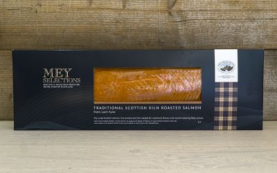 Mey Selections Traditional Scottish Kiln Roasted Salmon Unsliced Side (Min 1kg)