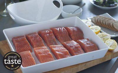 Lightly Smoked Salmon X 10 Portions