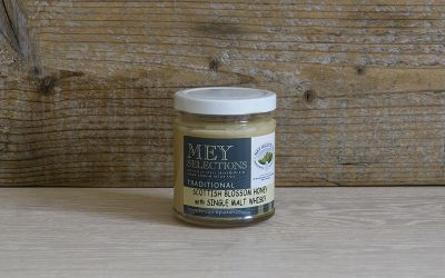 Mey Selections Traditional Scottish Blossom Honey with Single Malt Whisky 227g