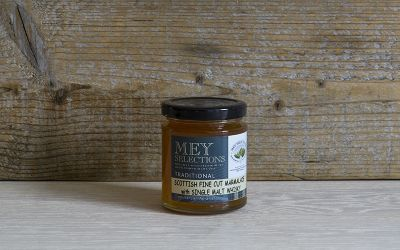Mey Selections Traditional Fine Cut Marmalade with Single Malt Whisky 227g