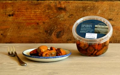 Smoked Mussels 200g tub