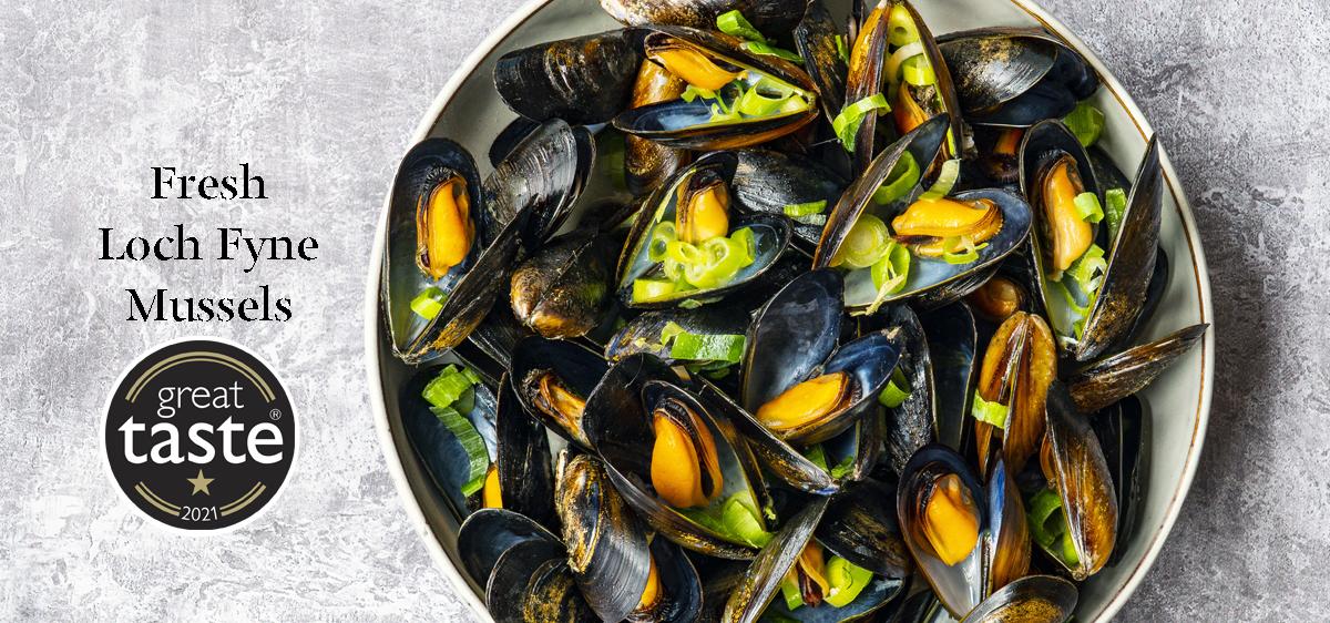Loch Fyne Fresh Mussels