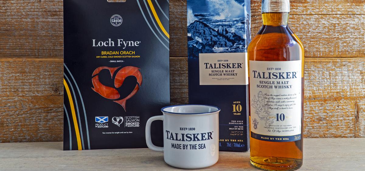 Loch Fyne Talisker Hamper