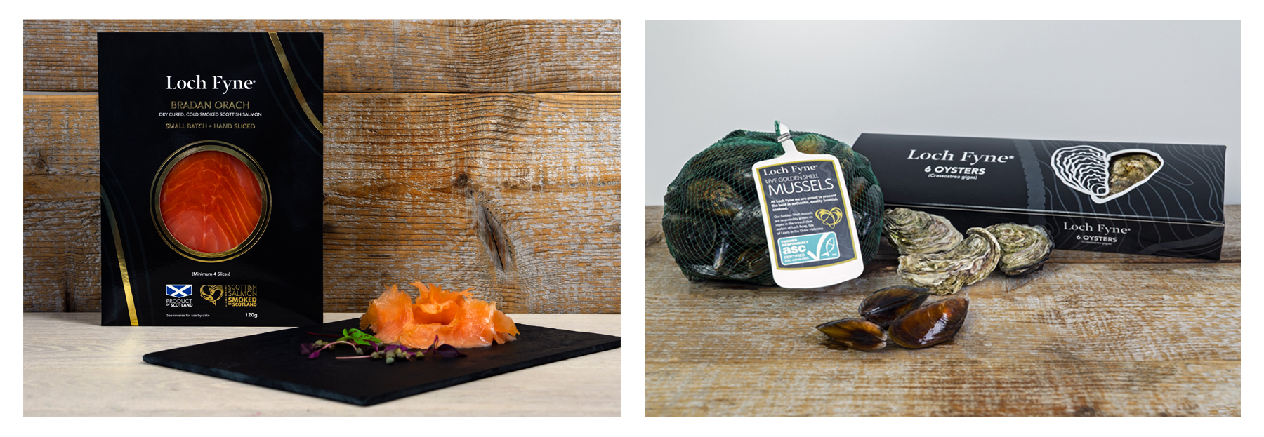 Loch Fyne Oysters & Mussels now available at Waitrose