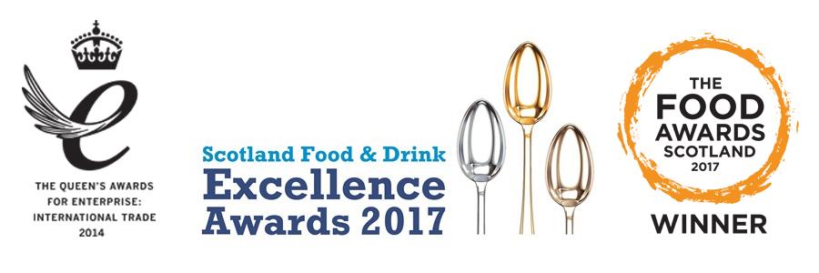 Loch Fyne Awards logos