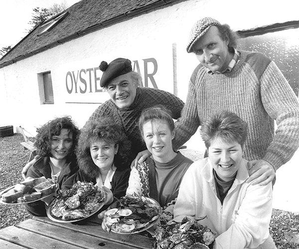Loch Fyne Oyster Bar Opening