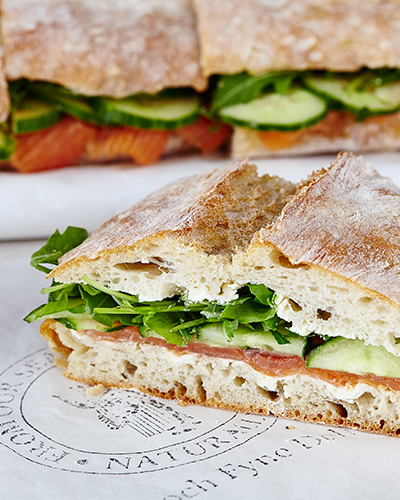 Loch Fyne Oysters Deli - delicious sandwiches